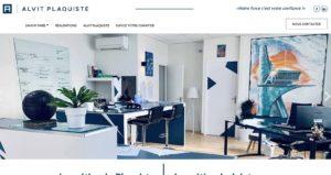 Création site web Perpignan - ALVIT PLAQUISTE