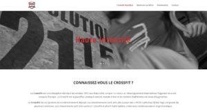 Création site web Cabestany - CrossFit Hostilius