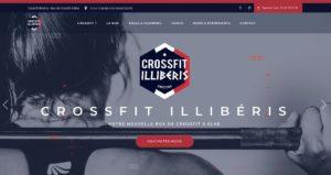 Création site web - CrossFit Illibéris