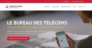 Création site web - Le Bureau des Télécoms