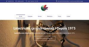 Création site web Perpignan - SNE Société Nouvelle d'Électricité