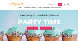 Création site e-commerce Party Cakes