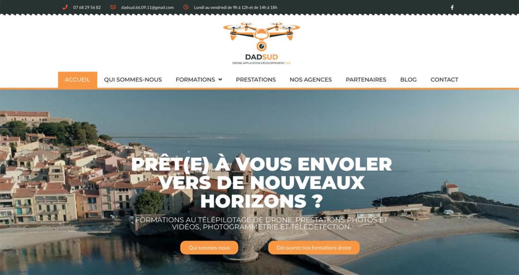 Création site web DADSUD
